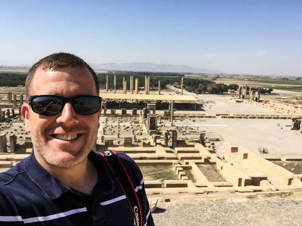Guided Iran tour - Persepolis from above