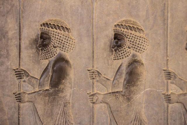 Hightlights of Persepolis - Carvings along the Apadana Staircase