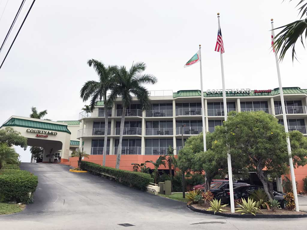 Diving in Key Largo - Courtyard Marriott