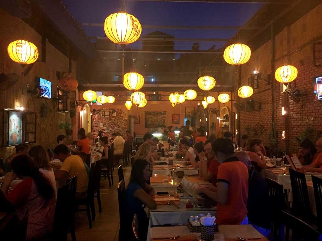 nha trang cooking class: The lanterns restaurant