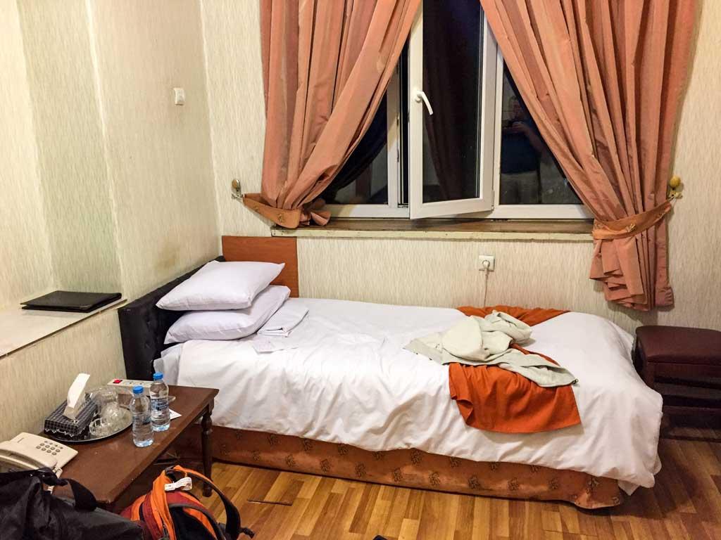 Fardis hotel Tehran - my room