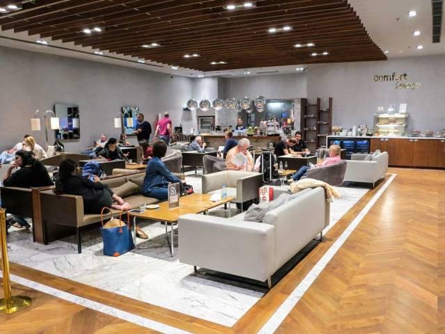 comfort airport lounge interior