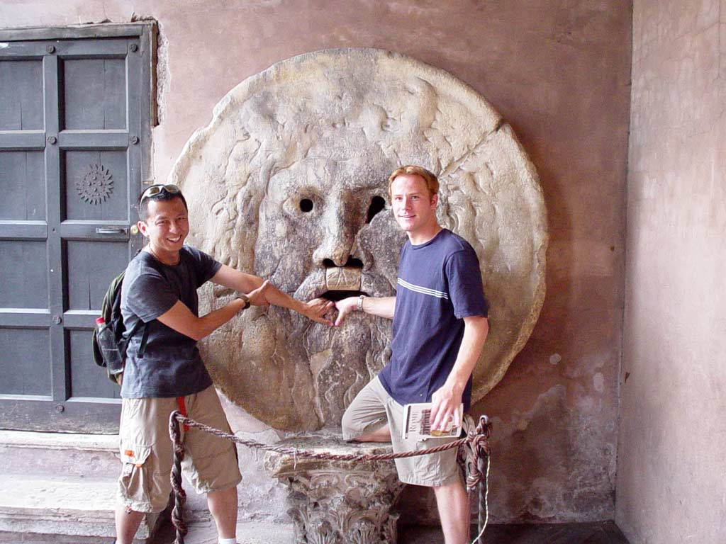 lesser known roman churches - bocca della verita