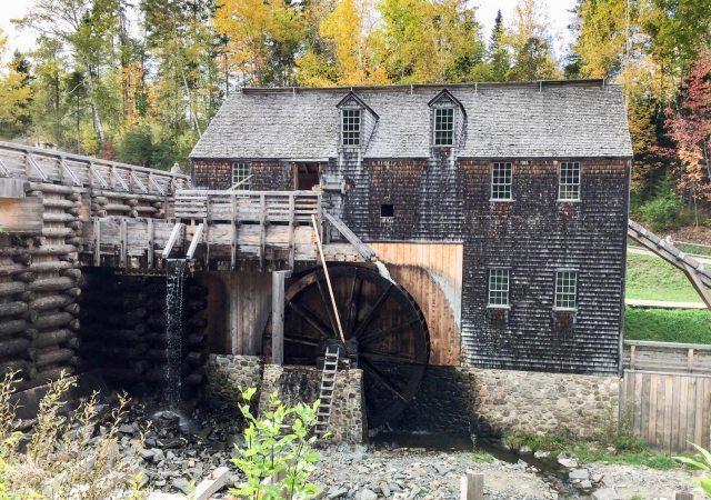 King's Landing Historical Settlement sawmill