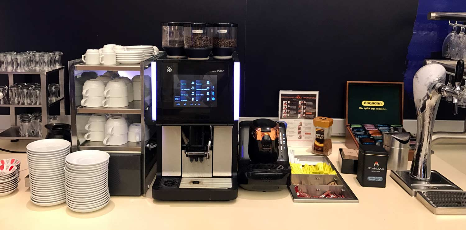 HSBC Premier Lounge Coffee Machines