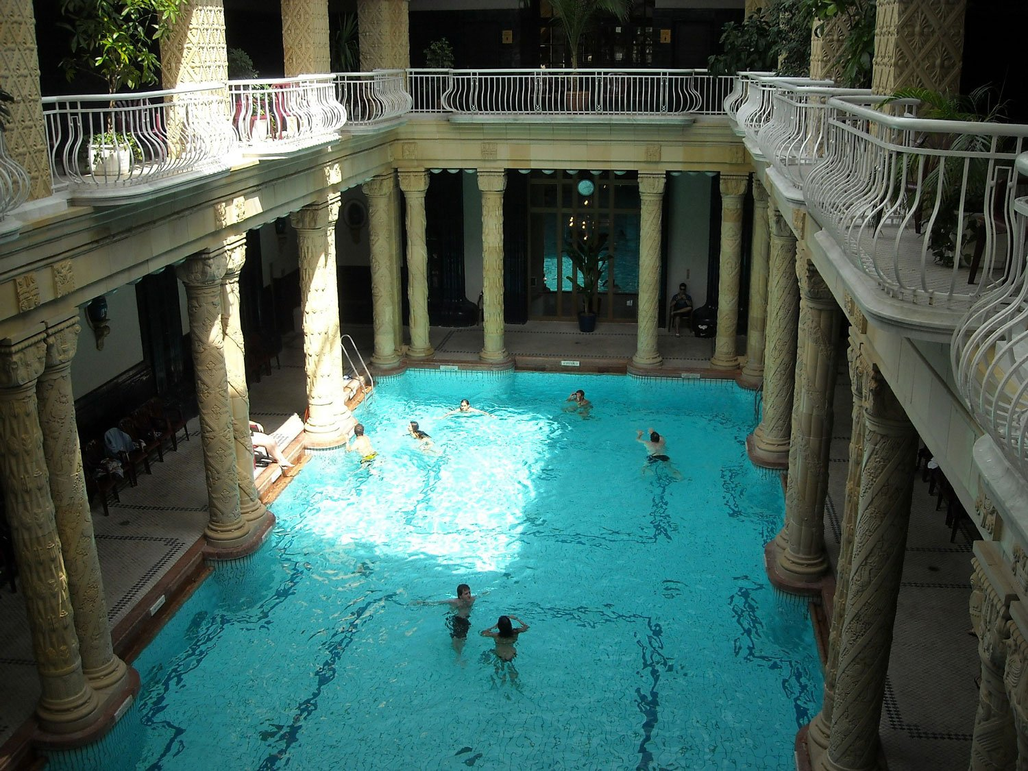 Budapest Thermal Baths gellert baths