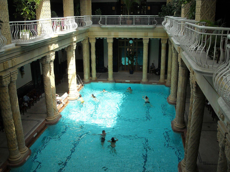 Budapest Thermal Baths gellert baths