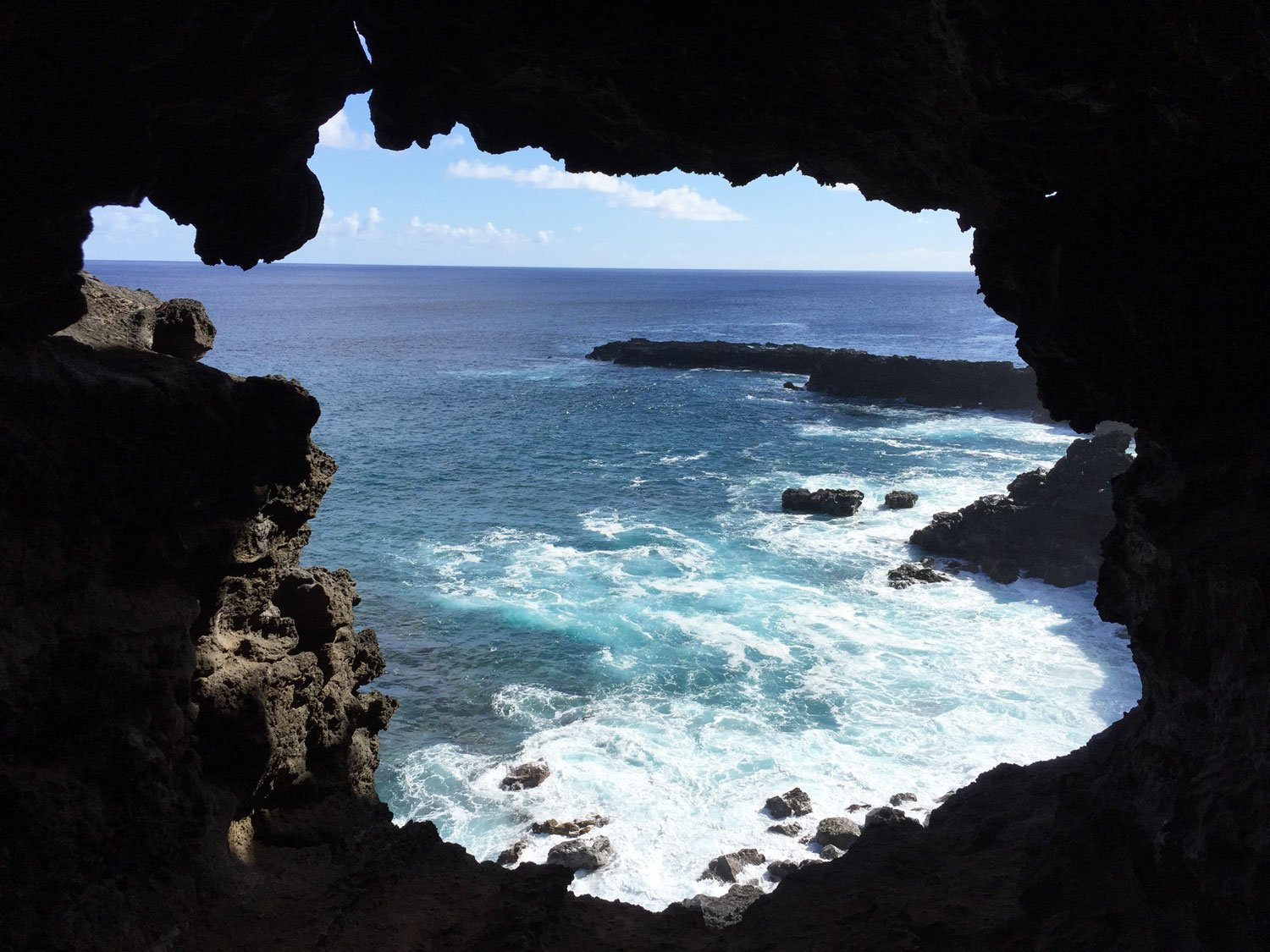 unusual things to do on easter island lava tube