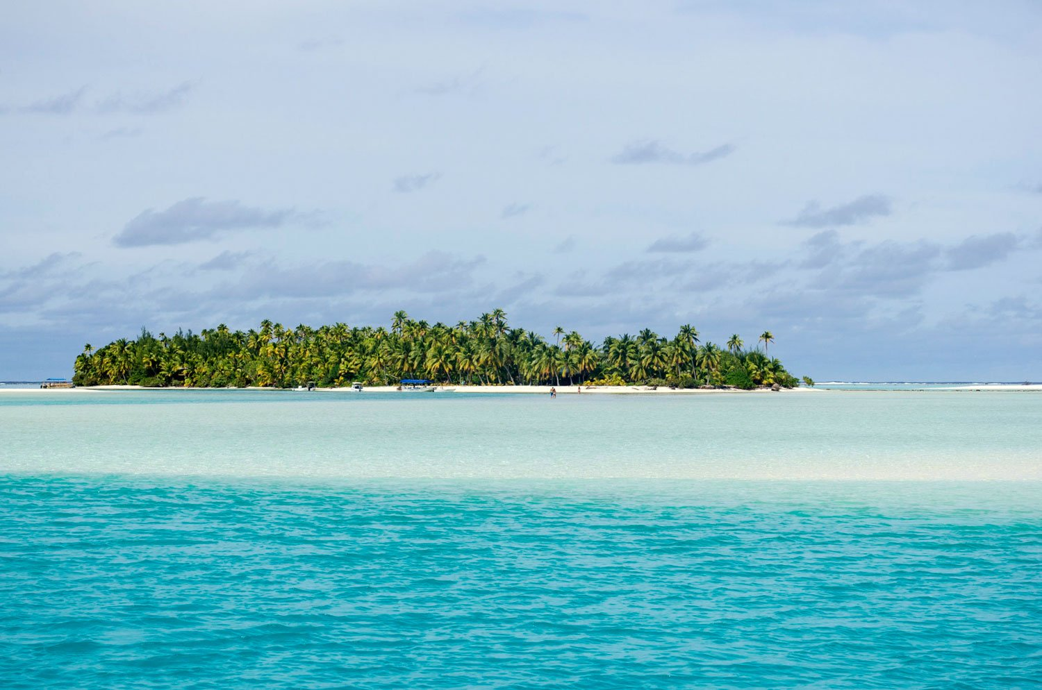 South Pacific Island Vacation destinations - aitutaki one foot island cook islands