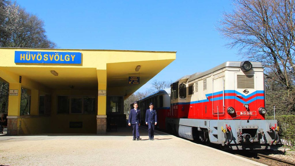 unusual things to do in Budapest childrens railway