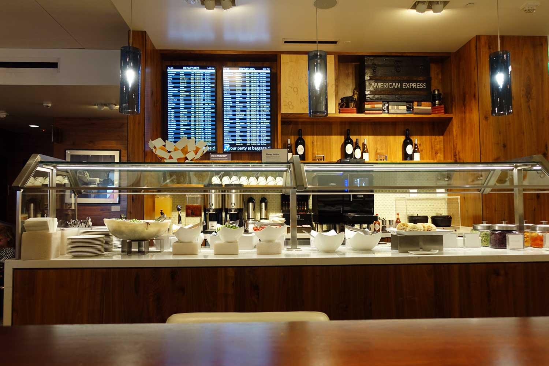 Centurion Lounge Seattle design