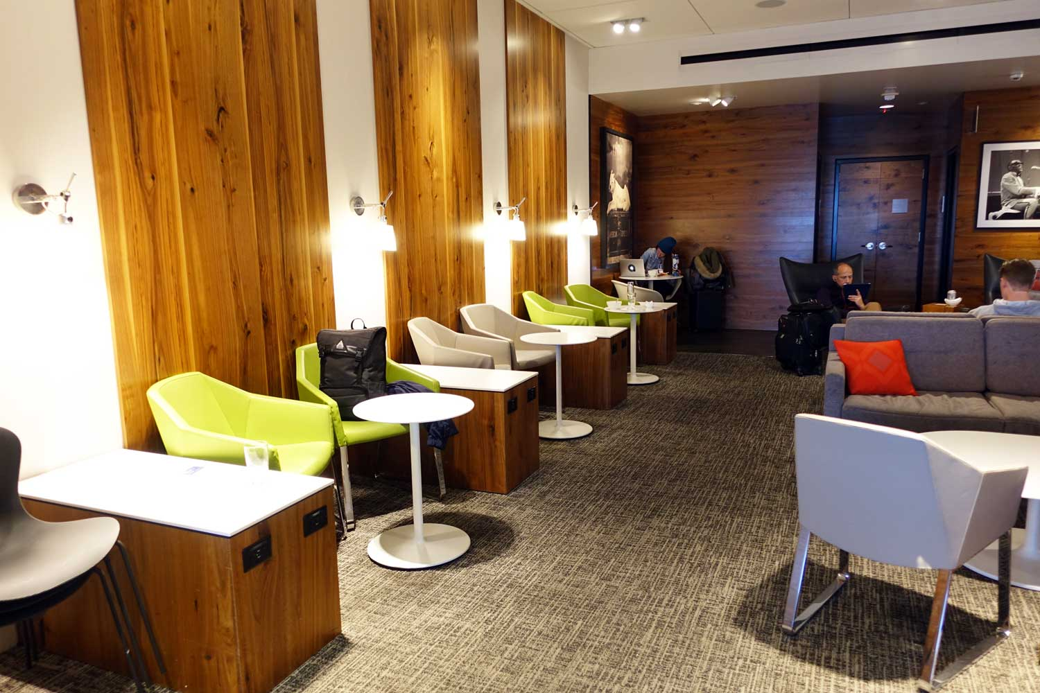 Centurion Lounge Seattle seating option