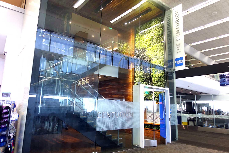 Centurion Lounge SFO entrance