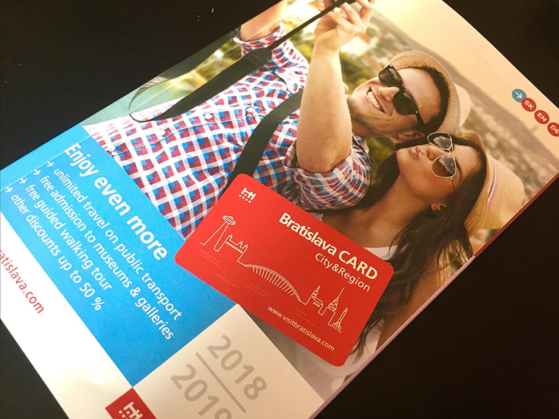 Bratislava Card guide book