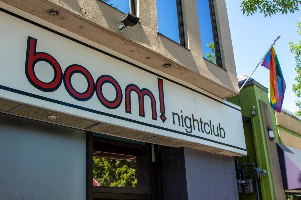No craft beer here at Boom nightclub