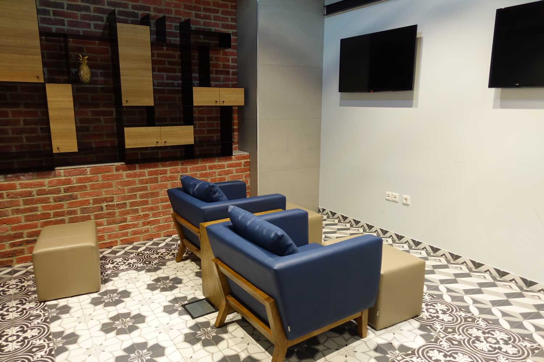 TV Room Primeclass lounge frankfurt
