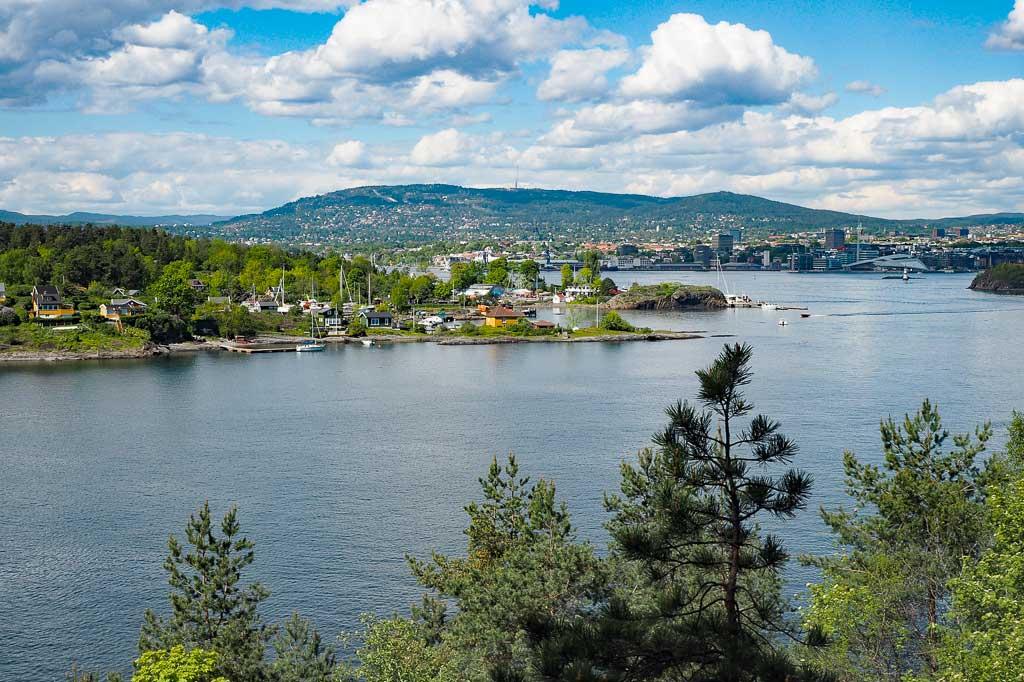 Oslo pass fjord