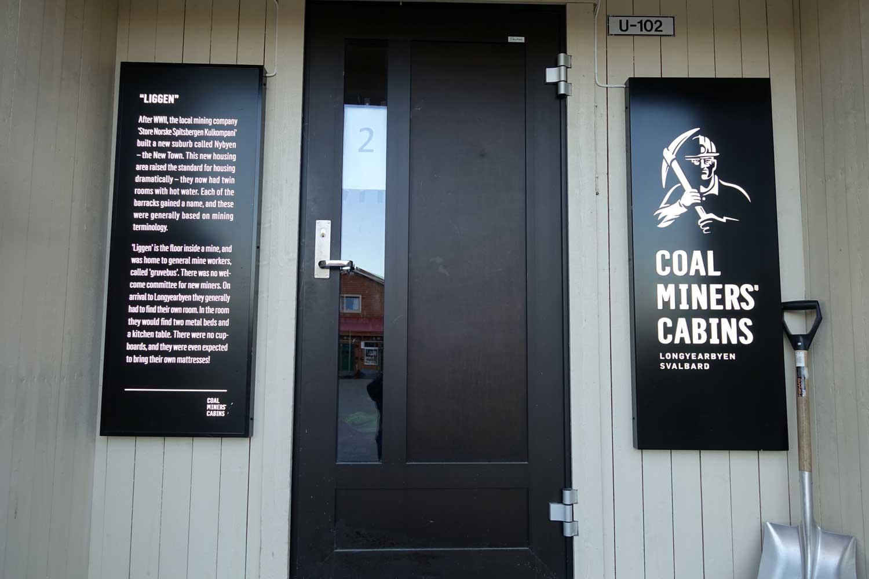 Svalbard Hotel - Coal Miners' Cabins