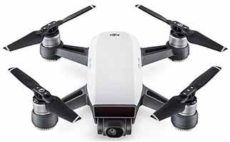 DJI Spark drone for travel vlogging