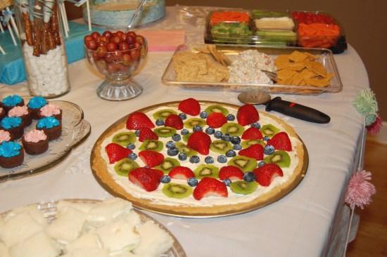 4. Fruit pizza