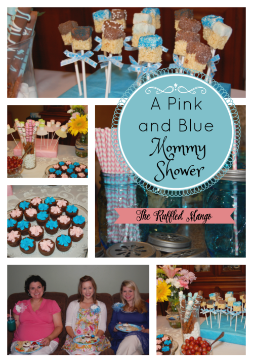 A great way to celebrate your mommy friends who are pregnant with their second (or third!) babies!