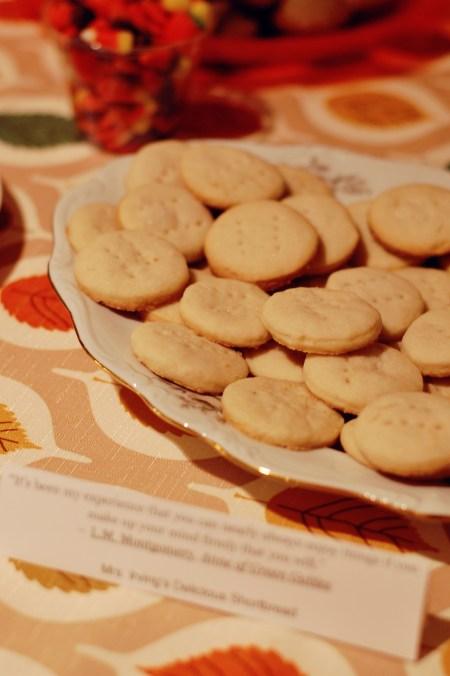 10. Mrs. Irving's shortbread