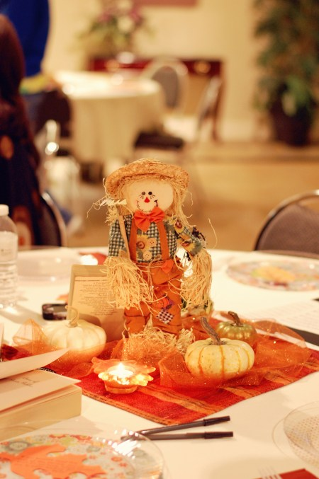 12. Scarecrow table