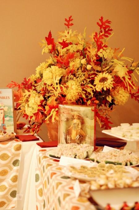 8. Food table