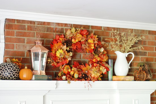 Finished fall mantle