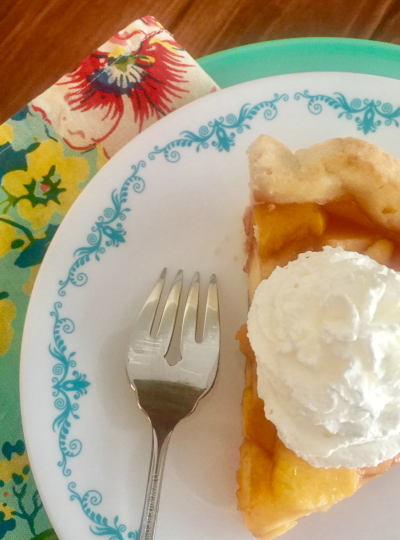 Family Favorite: Fresh Peach Pies