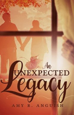 If you like modern Christian fiction, An Unexpected Legacy by Amy R. Anguish is a good one for you! Romance, witty banter, clean storyline, with a little dash of mystery...