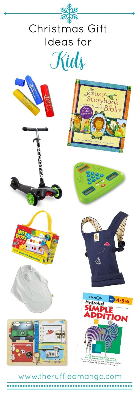 Feeling behind schedule on your Christmas shopping? Check out our list of gift ideas for kids for some quick inspiration. Bonus: You can skip the holiday madness since they're all available online!