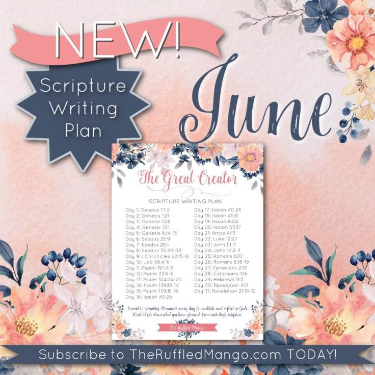 The Great Creator Scripture Plan