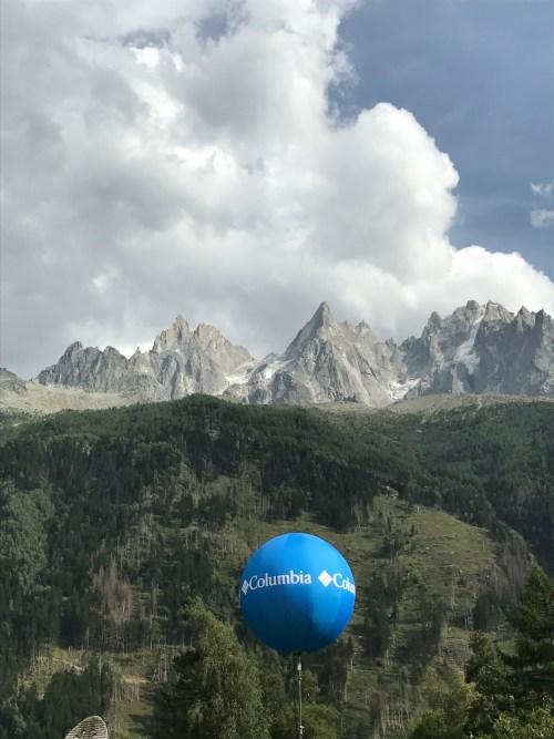 Chamonix Mountains Columbia Sponsor