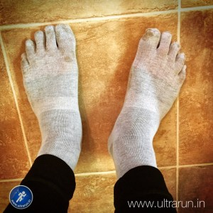 Injinji liner socks for ultimate foot comfort