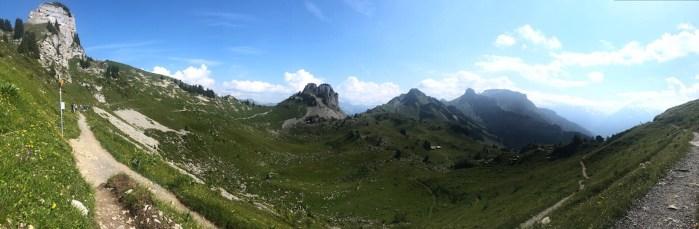Nice panorama along the way