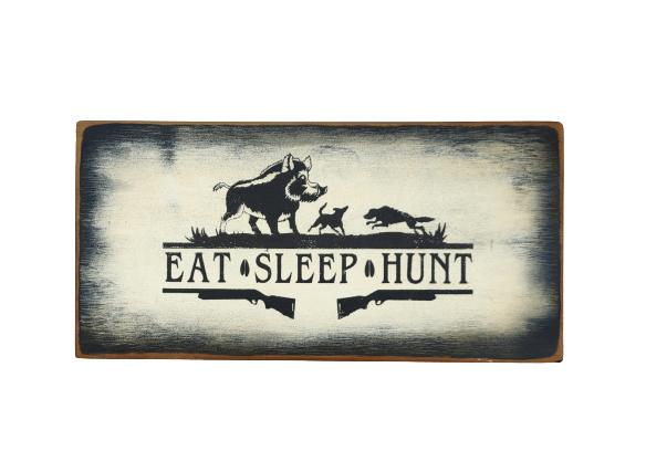 Eat Sleep Hunt (Pig)