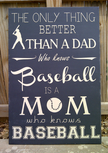 mom who knows baseball
