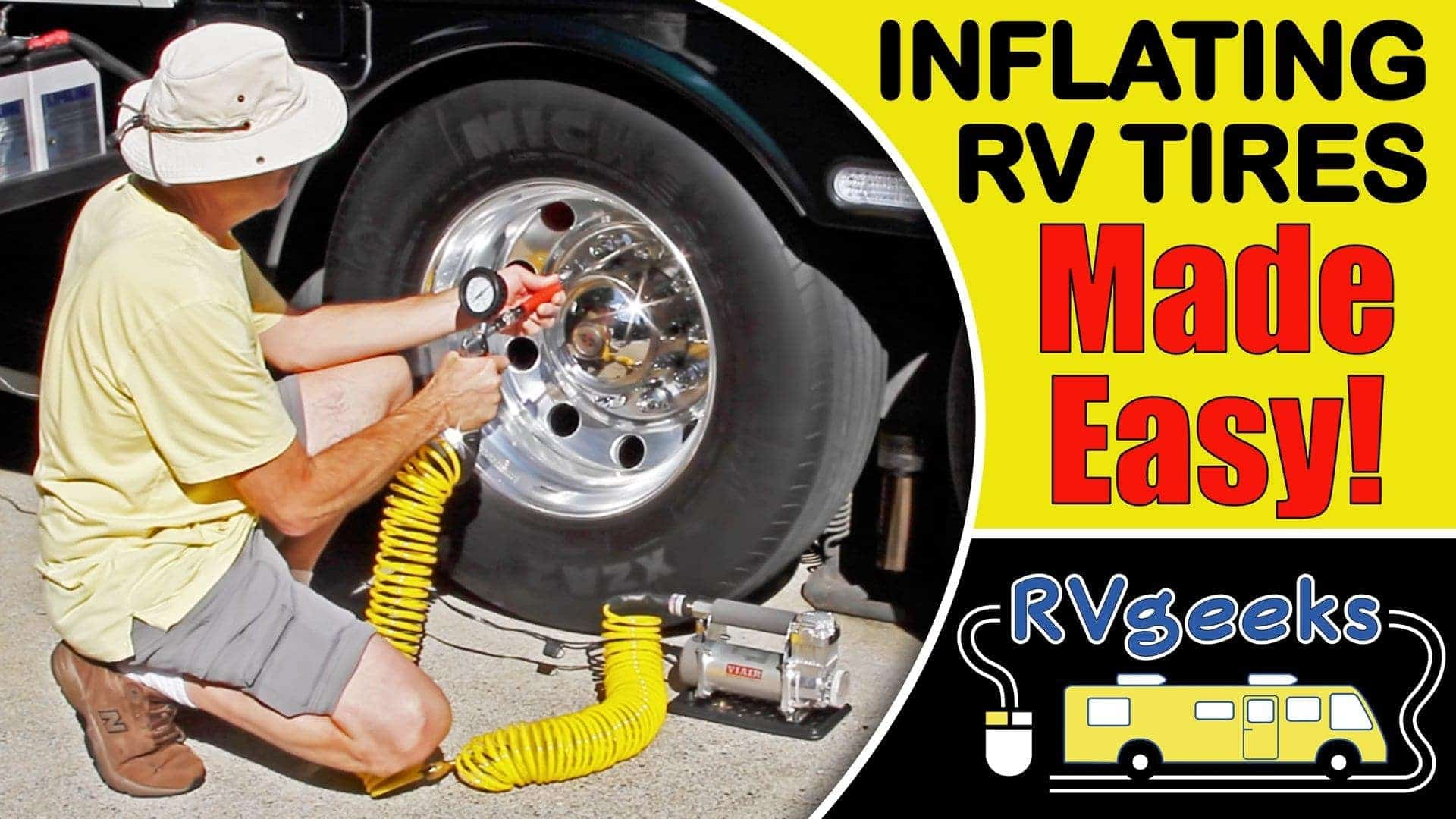 How To Inflate RV Tires The Easy Way (HINT: a Viair 400P-RV is