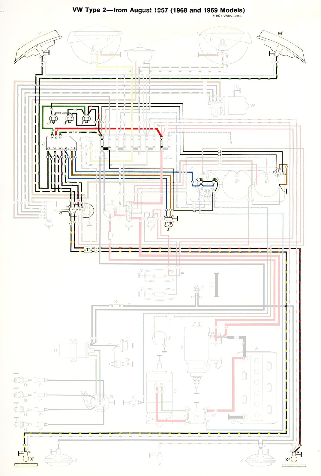 1968 69Bus_TurnBrake c6 corvette wiring diagrams dolgular com 2012 Chevy Sonic Wiring Diagram at soozxer.org