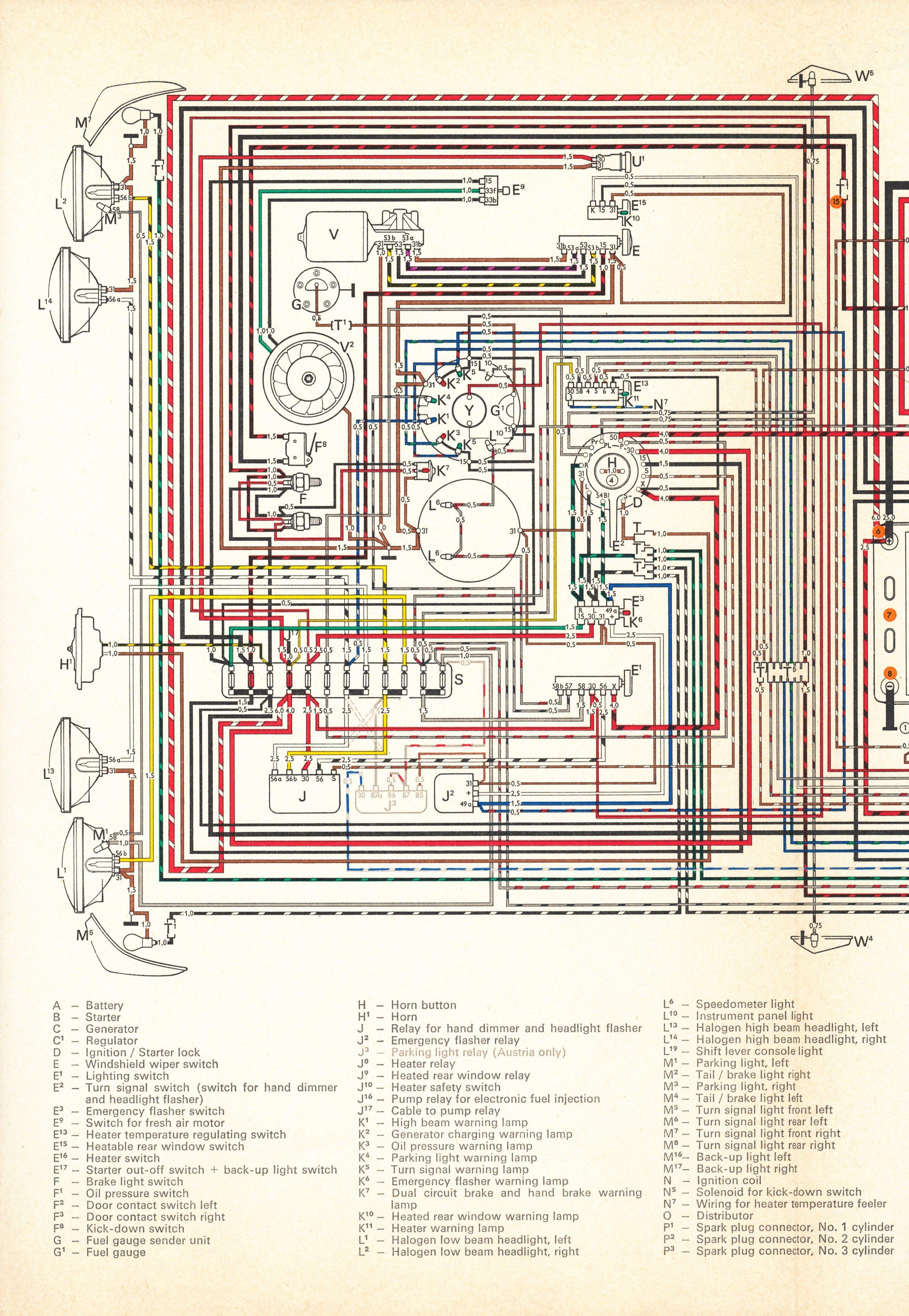Thesamba Type 4 Wiring Diagrams