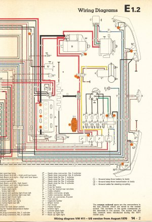 TheSamba :: Type 4 Wiring Diagrams
