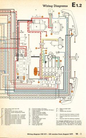 TheSamba :: Type 4 Wiring Diagrams