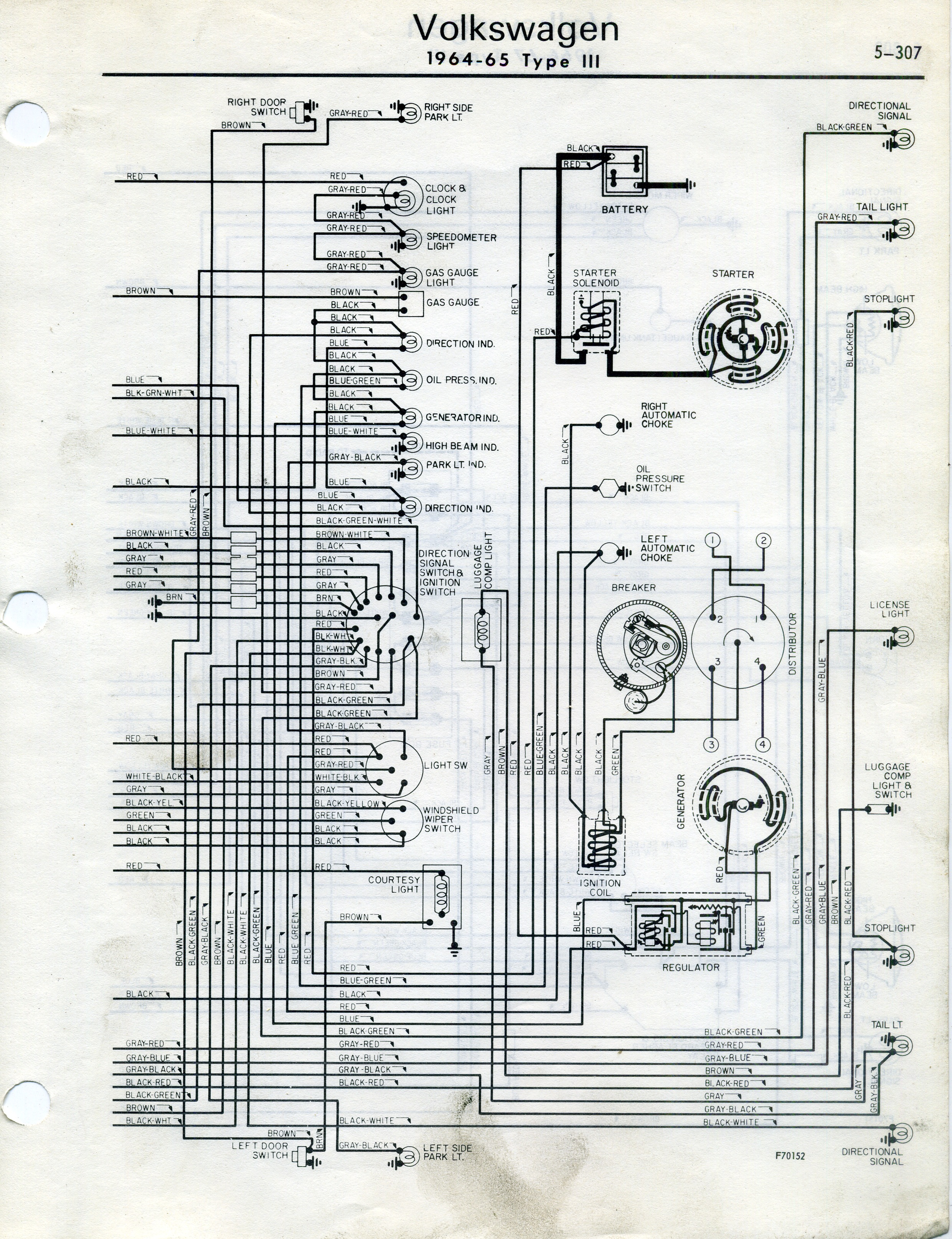 Thesamba Type 3 Wiring Diagrams
