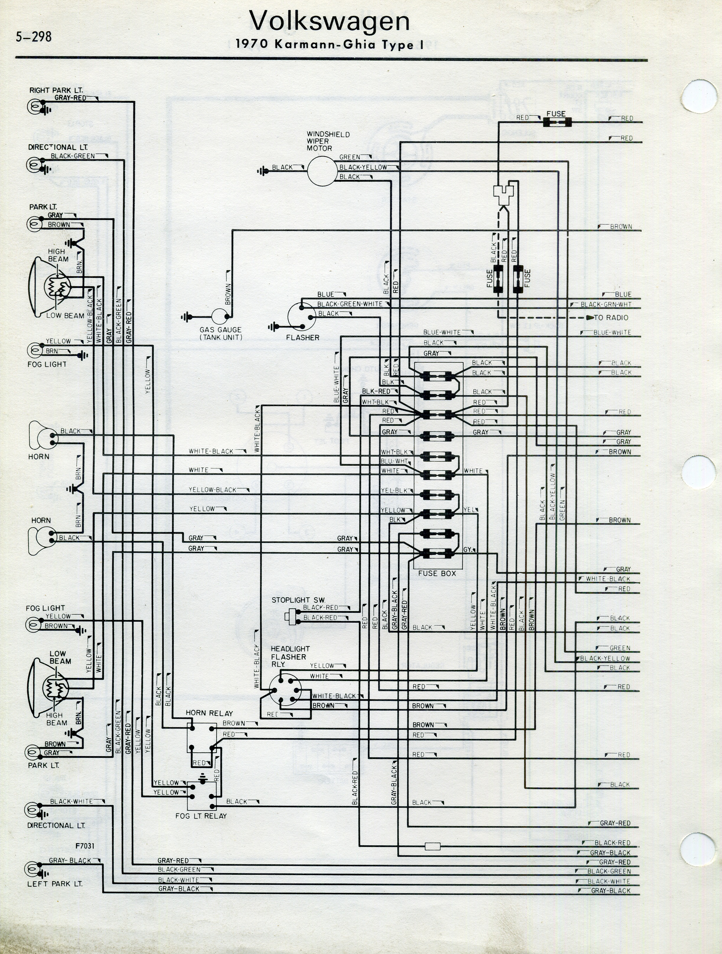 Vw Bus Fuse Box Diagram