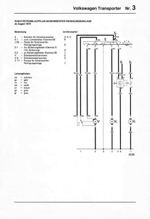 Vw Double Relay Wiring Diagrams 1978 | Wiring Library