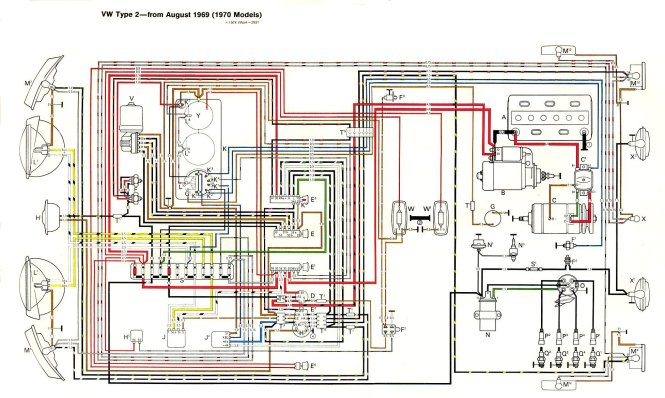 vw bug wiring diagram image wiring diagram 1970 vw bug wiring diagram wiring diagrams on 1970 vw bug wiring diagram
