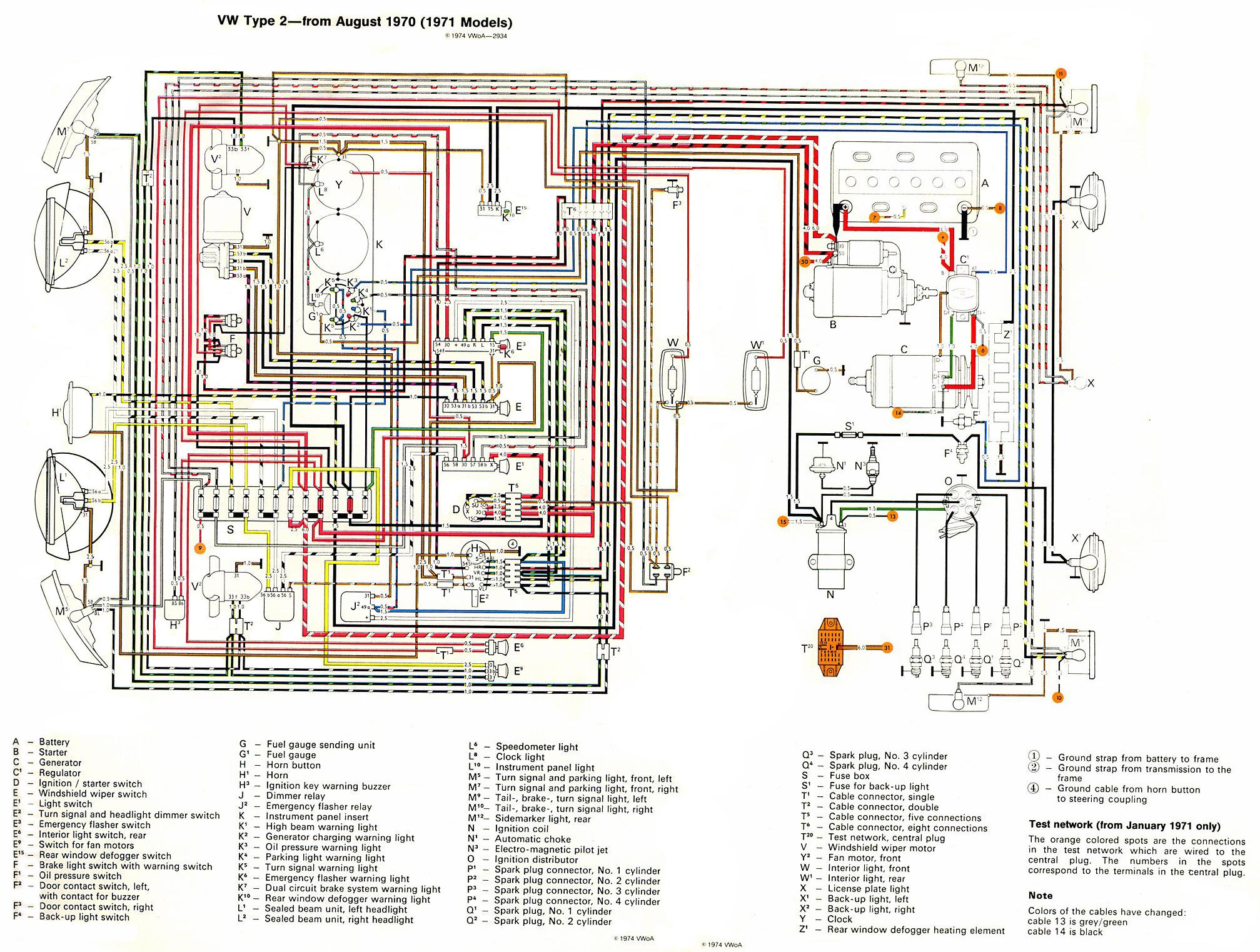 Vw Beetle Wiring Diagram Merzienet - 1966 vw beetle horn wiring diagram