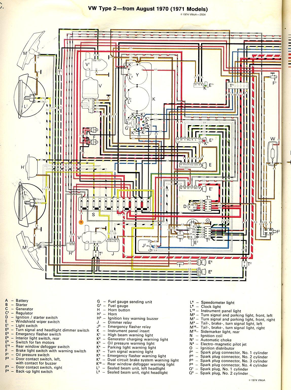 1969 Vw Beetle Wiring Diagram - Roslonek.net