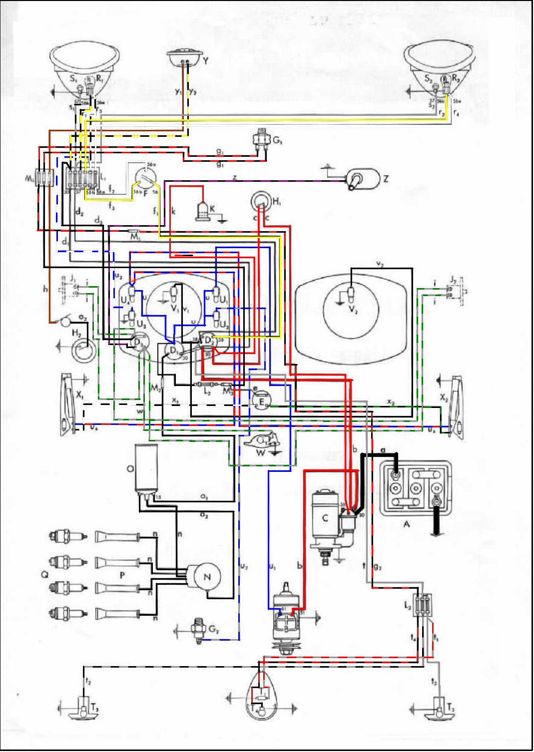 Bug_50?resize\\\=665%2C937 glamorous porsche 928 wiring diagram images diagram symbol on 356a wiring diagram